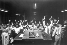 """Altar Call, Truth Tabernacle, Fort Worth, TX, 1978"" by Peter Feresten"