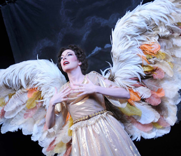 Ava Pine is Heaven's messenger in Angels in America.