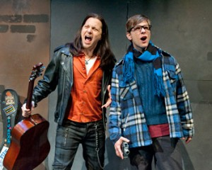 Jason Wooten and Adam Hose in Rent.