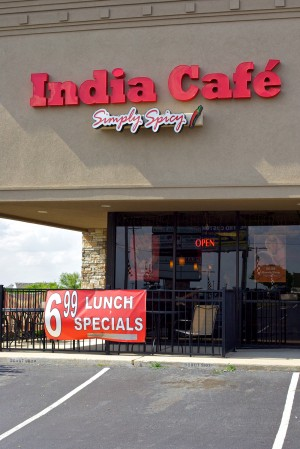 Stop by India Café for the masala wraps. Vishal Malhotra
