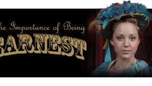 The Importance of Being Earnest is on stage Wednesday.