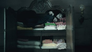 Johnny Depp finds a nice, quiet place to sleep in Dark Shadows.