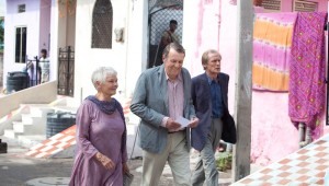 Judi Dench, Tom Wilkinson, and Bill Nighy find their way around Jaipur in The Best Exotic Marigold Hotel.