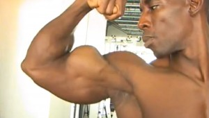 A YouTube video captures the glorious biceps of Marshall Hobbs.