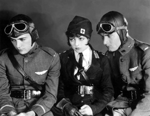 "See the 1927 film ""Wings"", the first ever to win the Academy Award for Best Picture, on Wednesday."