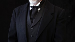 Brent Alford is Shylock in Trinity Shakespeare's The Merchant of Venice.