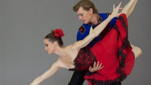 Michele Gifford and Shea Johnson will dance this weekend with Ballet Concerto.