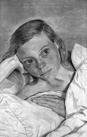 "Lucian Freud's ""Girl in Bed"" at the Modern."
