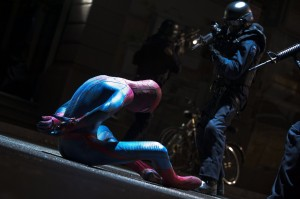 The Amazing Spider-Man opens Friday.