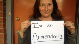 LOCAL ENVIRONMENTALIST DEBORA YOUNG PROCLAIMS HER ARMENDARIZNESS.