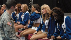HATE FOR COWBOYS, JERRY JONES AND JERRY WORLD UNDERSTANDABLE, BUT WHO COULD HATE THE CHEERLEADERS?