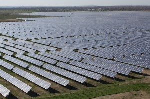 Austin's newest solar farm came on line in December. Courtesy Austin Energy