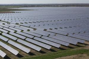 Austin's newest solar farm came on line in December. Courtesy Austin Energy