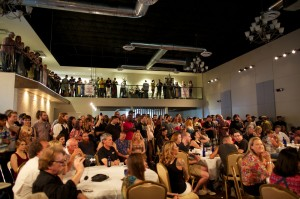 Nearly 400 folks piled into Piper Hall for the 2012 Panthys last Sunday.  Vishal Malhotra
