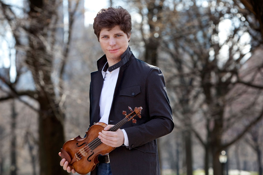 Violinist Augustin Hadelich sits in with FWSO, Sat.