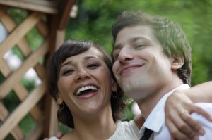 Rashida Jones and Andy Samberg are exes and BFFs in Celeste and Jesse Forever.