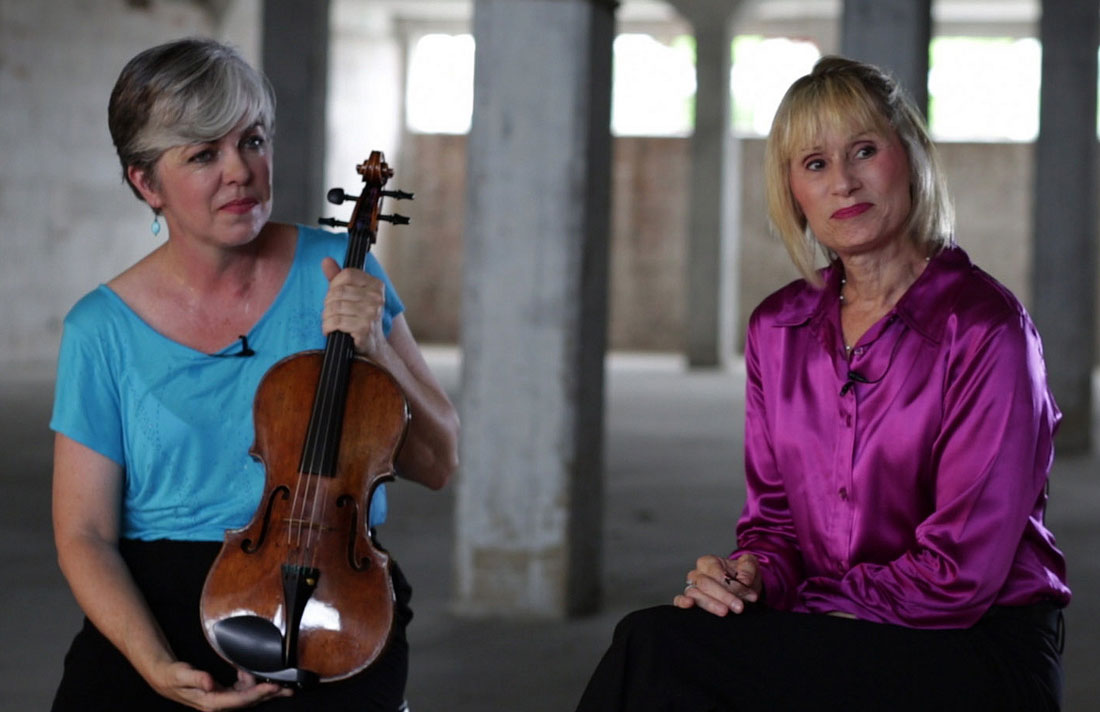 FWSO violist Laura Bruton and cellist Leda Larson discuss the viola that has a history with both of them in Laura and Leda: The Story of Jerome, the first installment of Erik Clapp's series.