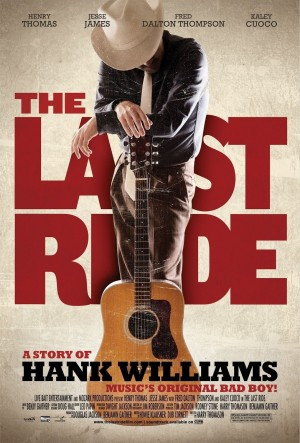 Henry Thomas stars as Hank Williams in The Last Ride opening Friday in Dallas.