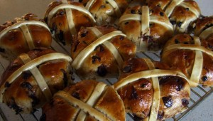 HOT CROSS BUNS, ANYONE?