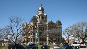 The Denton courthouse. PHOTO COURTESY OF QUESTERMARK