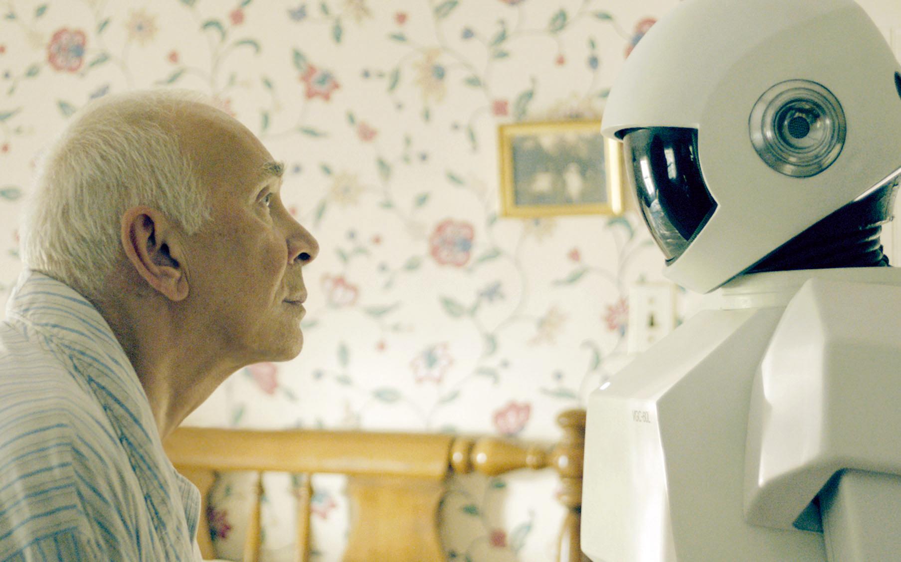 Frank Langella, James Marsden, Liv Tyler, Jeremy Sisto, and Susan Sarandon star in Robot & Frank now playing in Dallas.
