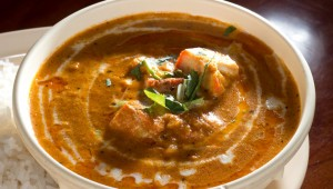 The fare, including the Chicken Tikka Masala, is unassuming but flavorful at Spice India. Chase Martinez