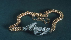 A bracelet recovered from the Titanic is among the 250 items to be exhibited in Fort Worth. Courtesy Titanic: The Artifact Exhibition
