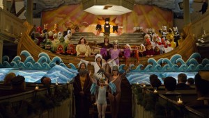 "The staging of Britten's ""Noye's Fludde"" in Wes Anderson's ""Moonrise Kingdom."""