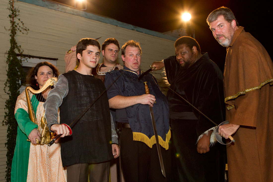 Elizabethans will battle zombies at Arts Fifth Avenue this month. Tony Robles