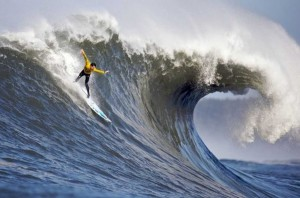 Gerard Butler stars as a legendary surfer in Chasing Mavericks opening Friday.