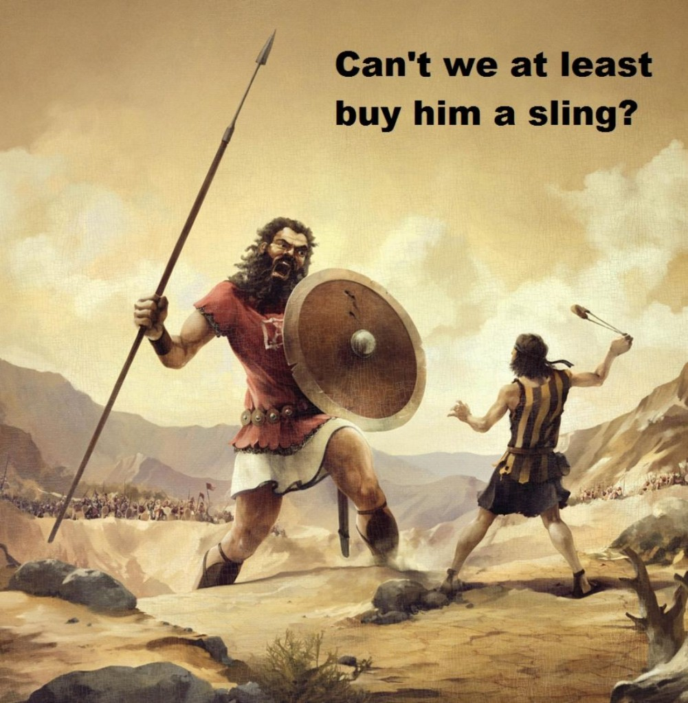 Related pictures david goliath a biblical story depicts a giant named