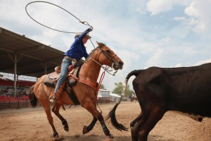 Illinois High School Students Compete In State Rodeo Championships