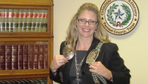 Katie Woods, a rodeo queen and Tarrant County prosecutor. COURTESY OF TARRANT COUNTY DA'S OFFICE.