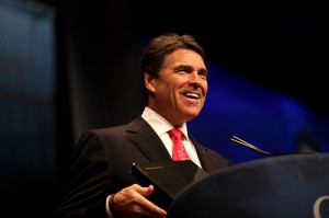 Gov. Rick Perry at the 2012 CPAC Conference in D.C. COURTESY OF GAGE SKIDMORE.