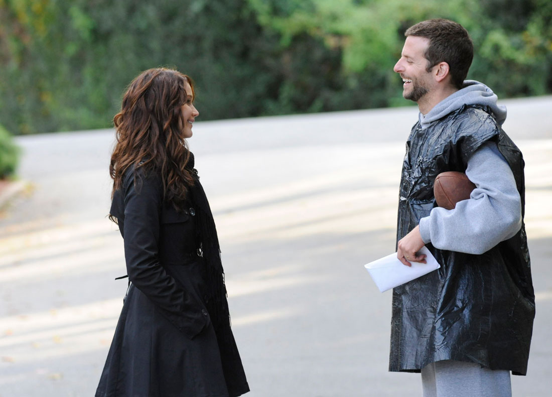 Jennifer Lawrence and Bradley Cooper in Silver Linings Playbook at LSIFF.