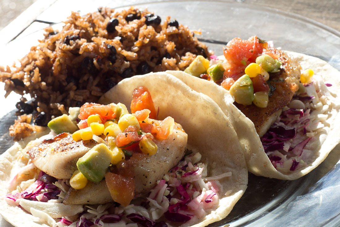 The tacos are small but tasty at Mariposa's Latin Kitchen. Chase Martinez