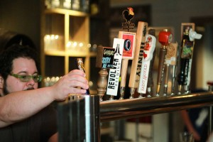 Brewed's main focus is a big selection of beer and coffee — but the food is also pretty fine. Willex Tindell