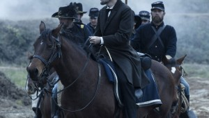 Daniel Day-Lewis fights for freedom in Lincoln.