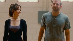 It's always crazy in Philadelphia: Jennifer Lawrence and Bradley Cooper in Silver Linings Playbook.