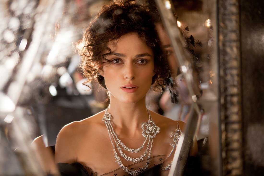 Keira Knightley gives up everything for love in Anna Karenina.