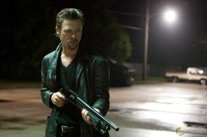 "Brad Pitt is an efficient problem solver in ""Killing Them Softly."""