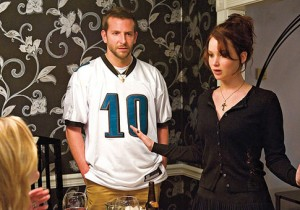 "Bradley Cooper and Jennifer Lawrence in ""Silver Linings Playbook."""