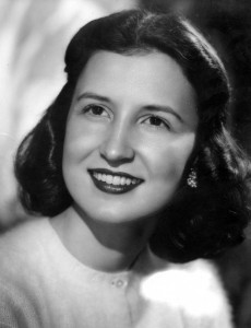 Brink smiles for her 1949 Everman High School graduation picture.