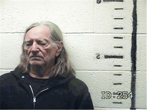 Nelson: charged with marijuana possession