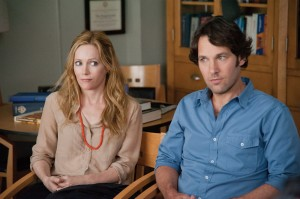 Leslie Mann and Paul Rudd face the middle of their lives in This Is 40.