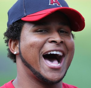 ANGELS PLAYERS ARE LAUGHING IT UP ABOUT NABBING JOSH HAMILTON FROM THE TEXAS RANGERS (flickr photo by Keith Allison).