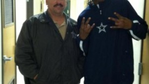 DEPUTY LASARO SALGADO AND SNOOP DOGG AKA LION (photo courtesy of Lasaro Salgado)