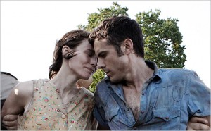 "Rooney Mara and Casey Affleck in ""Ain't Them Bodies Saints."""