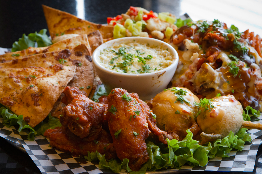 Frankie's All-Star sampler is a great way to dive into the diverse menu. Tony Robles