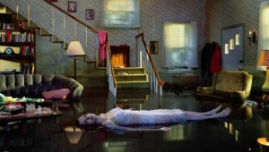 "The artist's ""Ophelia"" on display in ""Gregory Crewdson: Brief Encounters."""